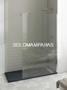 Mampara de ducha fija Minimal, vidrio 8mm (tratamiento antical incluido)