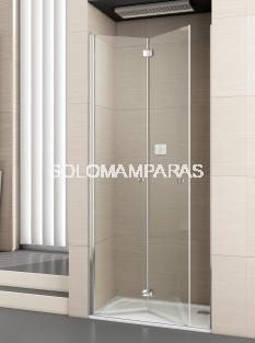Mampara de ducha plegable Palau 2P -Deyban- (antical)