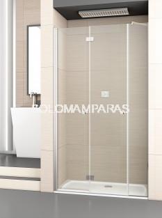 Mampara de ducha plegable Palau 2P+F -Deyban- (antical)