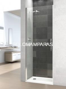 Mampara de ducha Prisma -Deyban- (1 abatible) 6 mm con antical