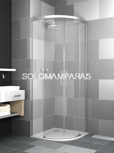 Mampara de ducha curva Elba Extra -Deyban- antical