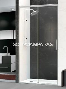 Mampara de ducha Venecia -Deyban- 1 fija + 1 corredera (antical)