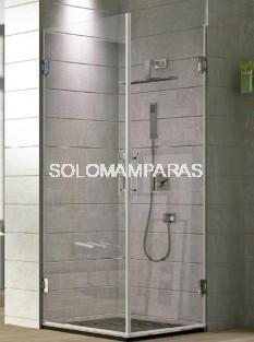 Angular de ducha Purús -Hidroglass- (2 hojas abatibles) 8 mm
