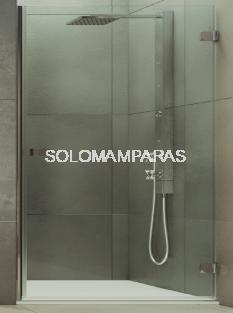 Mampara de ducha abatible Brumei 8 mm