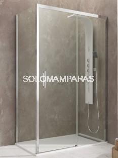 Mampara de ducha Aktual -GME- (1 fija + 1 corredera + 1 lateral fijo) Antical
