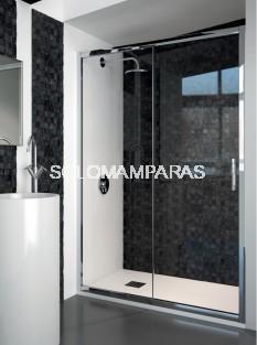 Mampara de ducha ST Quito - Doccia- 1 fija + 1 corredera