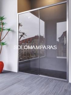 Mampara de ducha Sena ST (fijo + corredera)  - DOCCIA - con antical