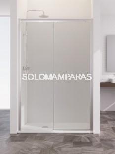 Mampara de ducha Summer Sum-310  -Profiltek- 1 fija y 1 corredera 6 mm (antical)
