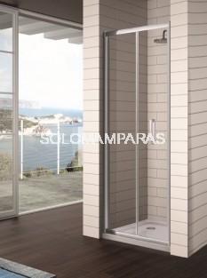 Mampara ducha plegable -Kassandra- S300 (TR300) 2 hojas plegables (antical Easy Clean)