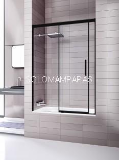 Mampara de bañera Elba Extra 6mm  -Deyban- (1 fija + 1 corredera) con antical