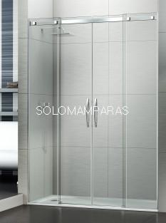 Mampara de ducha Évora -Deyban- (2 fijas + 2 correderas)
