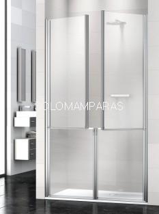 Mampara de ducha Prisma 2P/2 -Deyban- (4 puertas abatibles) antical