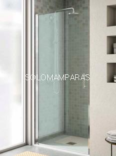 Frontal de ducha Milán (1 puerta abatible + 1 lateral fijo) antical incluido