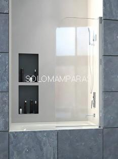 Mampara de bañera ST Bombay -Doccia- 1 abatible de 80cm
