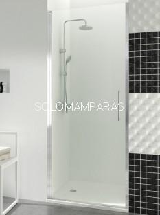 Mampara de ducha GME, Open 1 puerta abatible con cierre de imán (COMBI B)