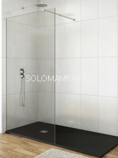 Fijo de ducha mampara Screen -GME- 8mm transparente con antical