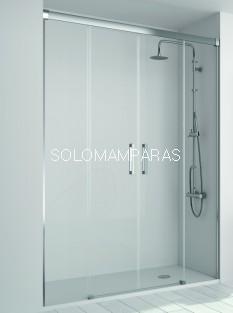 Frontal de ducha Mampara Sugar, 2 fijas+ 2 correderas (SU100) de Kassandra