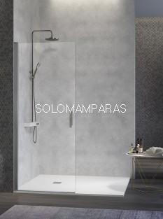 Mampara de ducha Nardi -Kassandra- (NA520) Transparente (Antical Easy Clean) (1 abatible sin perfil de cierre)
