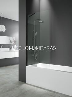 Panel de bañera fijo Screen Black -GME- 8 mm (antical)