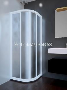 Mampara de ducha ST París - Doccia -  semicircular acrílica