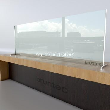 Separador de vidrio protector Proteck 1100  (Altura 50cm y 85cm)