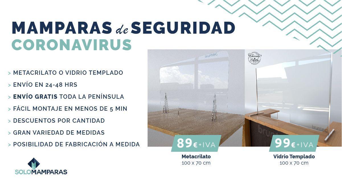 coronavirus mampara