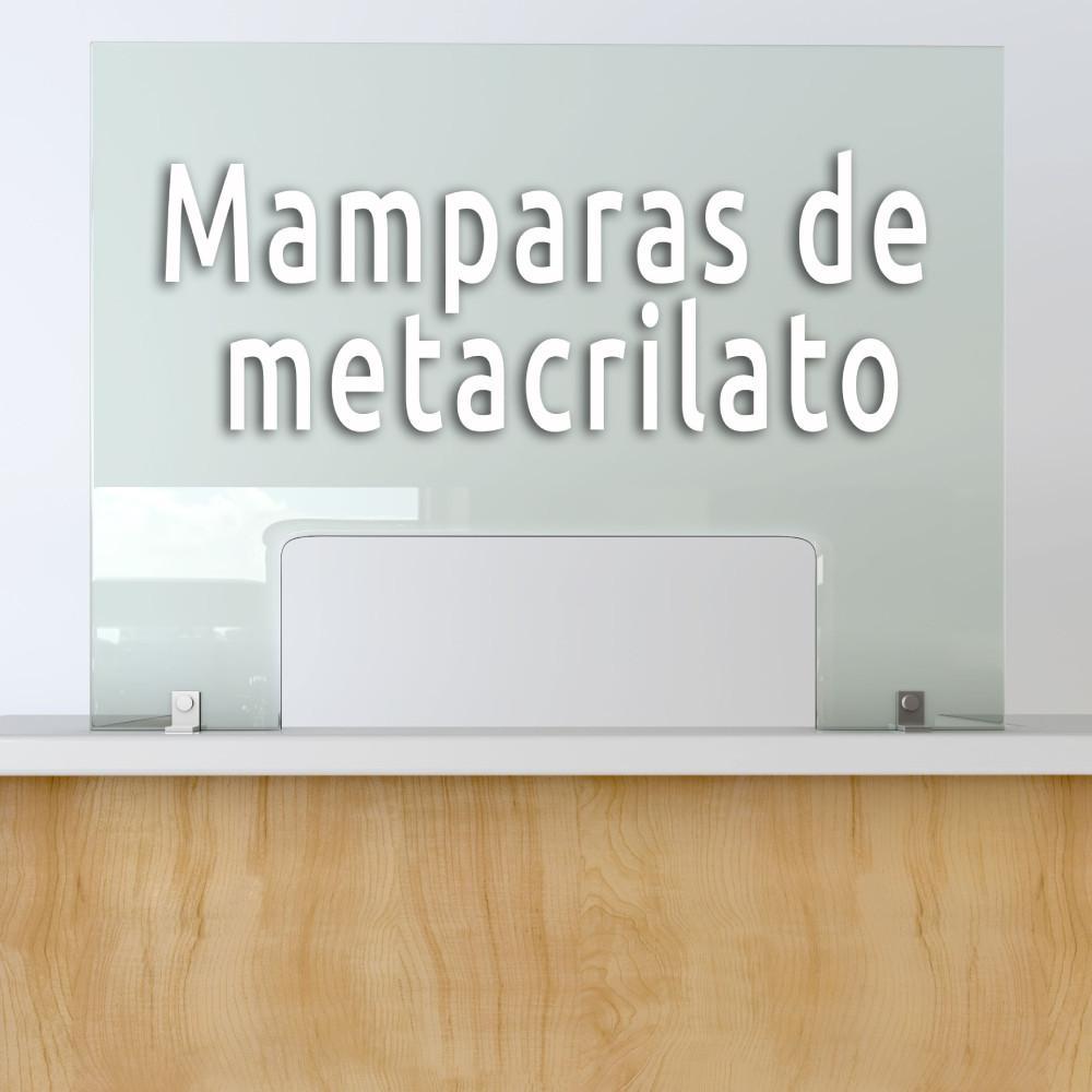 Mámparas Protección Metacrilato